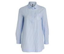 Long-Bluse - blau