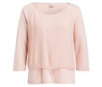 Sweatshirt im Lagenlook - rosé