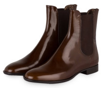 Chelsea-Boots - braun/ schwarz