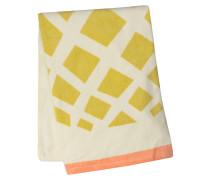 Strandtuch - gelb