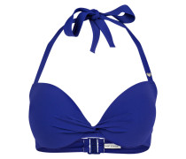 Neckholder-Bikini-Top mit Push-up-Effekt