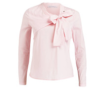 Schluppenbluse - rosa
