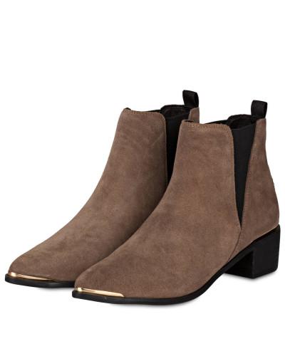 Buffalo Damen Chelsea-Boots - TAUPE Aberdeen In Deutschland Billig FqrwTkrt