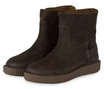 Boots - dunkelbraun