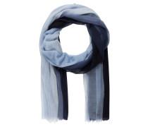 Cashmere-Schal ZOE - blau/ hellblau