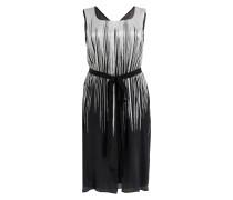 Kleid DAMIERE - schwarz/ silbergrau