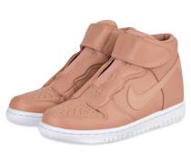 Hightop-Sneaker DUNK HIGH EASE - lachs