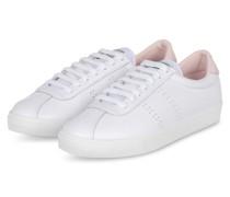 Sneaker 2843 - WEISS/ HELLROSA