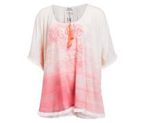 T-Shirt - weiss/ rosa
