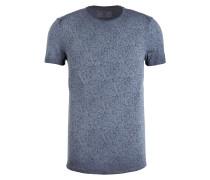 T-Shirt - navy/ anthrazit