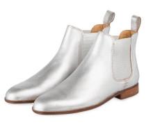 Chelsea-Boots SUSAN - silber metallic