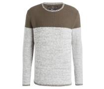 Pullover HANMILTON - oliv/ grau
