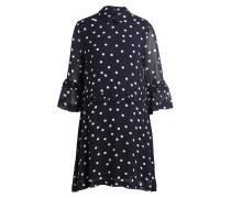 Kleid MARCEAU - dunkelblau/ weiss