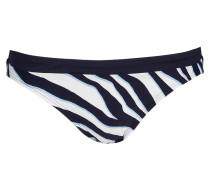 Bikini-Hose - navy/ hellblau/ weiss