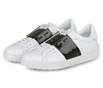 Sneaker - weiss/ dunkelgrün