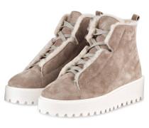 Plateau-Boots HIKE - sand/ weiss
