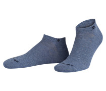 2er-Pack Sneakersocken EVERYDAY - graublau