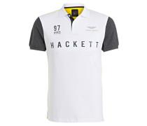 Piqué-Poloshirt Slim-Fit aus der ASTON MARTIN RACING Kollektion