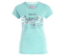 T-Shirt - mint meliert
