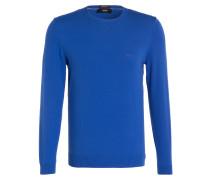 Feinstrickpullover FINELLO-O - blau