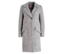 Mantel ONATI - grau meliert