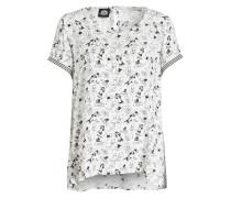 T-Shirt - offwhite/ schwarz