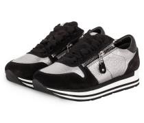 Plateau-Sneaker ROCK - schwarz