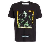 T-Shirt GRADIENT CARAVAGGIO - schwarz