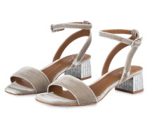Sandalen - taupe