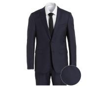Anzug C-RYAN/C-WIN Slim-Fit - blau