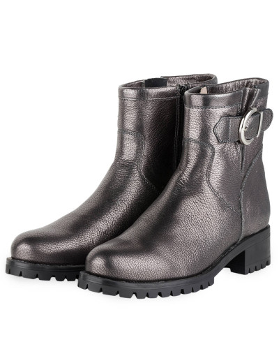 Biker-Boots INTRO - anthrazit metallic