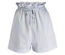 Shorts CHARRON - hellblau/weiss gestreift