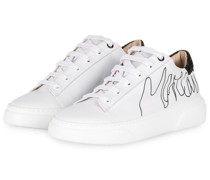 Plateau-Sneaker - 190 white and black