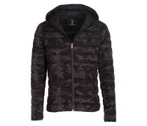 Steppjacke TAGLIA - schwarz/ grau/ khaki