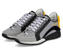 Sneaker 551 - GRAU/ SCHWARZ/ GELB