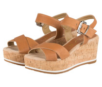 Wedges KARPI - braun
