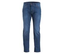 Jeans Straight-Fit - blau
