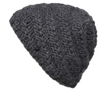 Grobstrick-Mütze JADE - grau