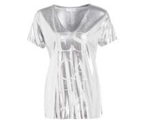 T-Shirt EPAINA - grau/ silber