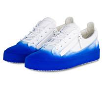 Sneaker - blau/ weiss