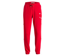 Sweatpants LE HAPPY - rot