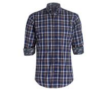 Hemd Slim-Fit - blau kariert