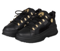 Plateau-Sneaker DEVA - SCHWARZ/ GOLD