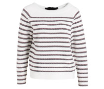 Sweatshirt mit Samtschleife