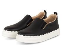 Slip-on-Sneaker mit Plateau - 001 BLACK