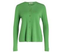 Cashmere-Cardigan - grün