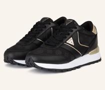Plateau-Sneaker SAMSIN4 - SCHWARZ/ GOLD