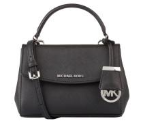 Saffiano-Handtasche AVA MINI - schwarz