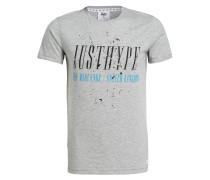 T-Shirt HORNETT - grau meliert