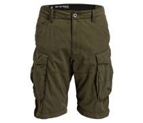 Cargo-Bermudas ROVIC Loose-Fit - gelb